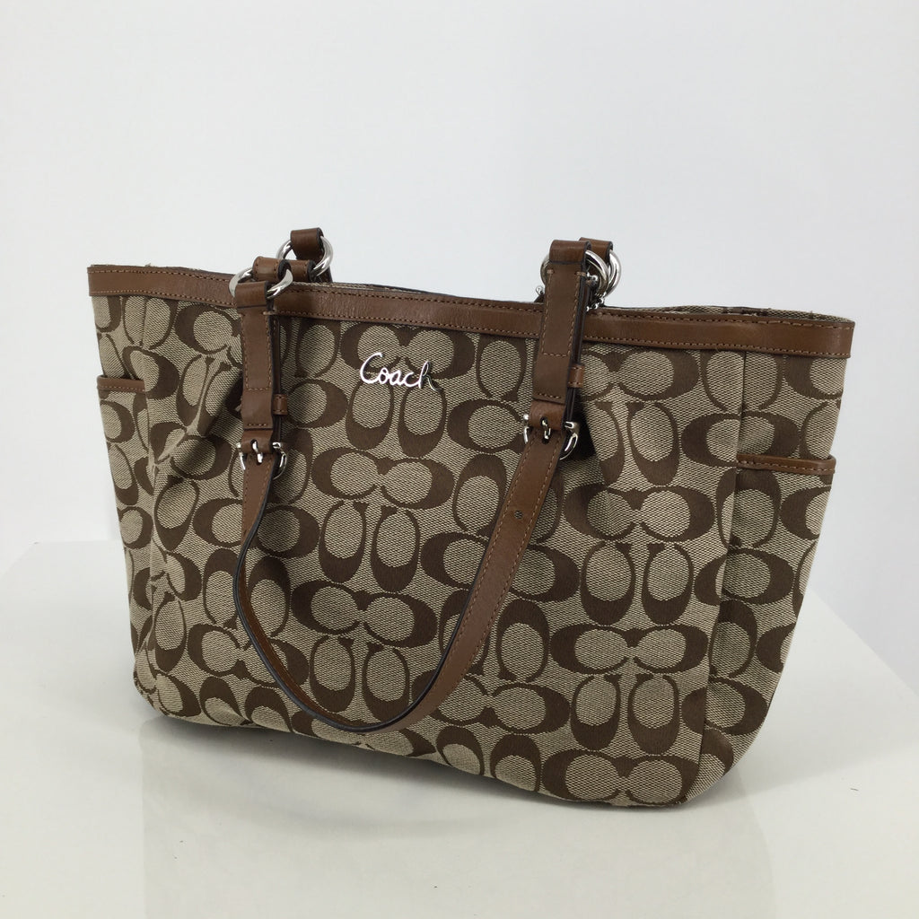 Coach Brown Designer Handbag
