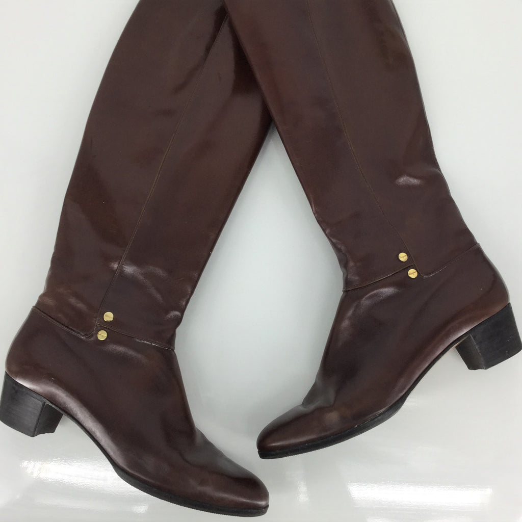 LIKE NEW SALVATORE FERRAGAMO BOOTS SIZE:7.5