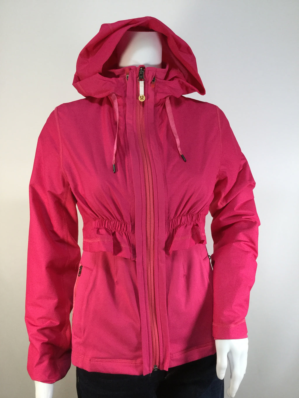 Lulu Lemon 2 in 1 Proactive 2 Piece Athletic Jacket w/ hoodie  Size:4
