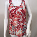 Calia Athletic Tank Top Size:s - CALIA TANK BY CARRIE UNDERWOODBRIGHT SPRING COLORED RACER BACK WITH PINK MESH PANEL