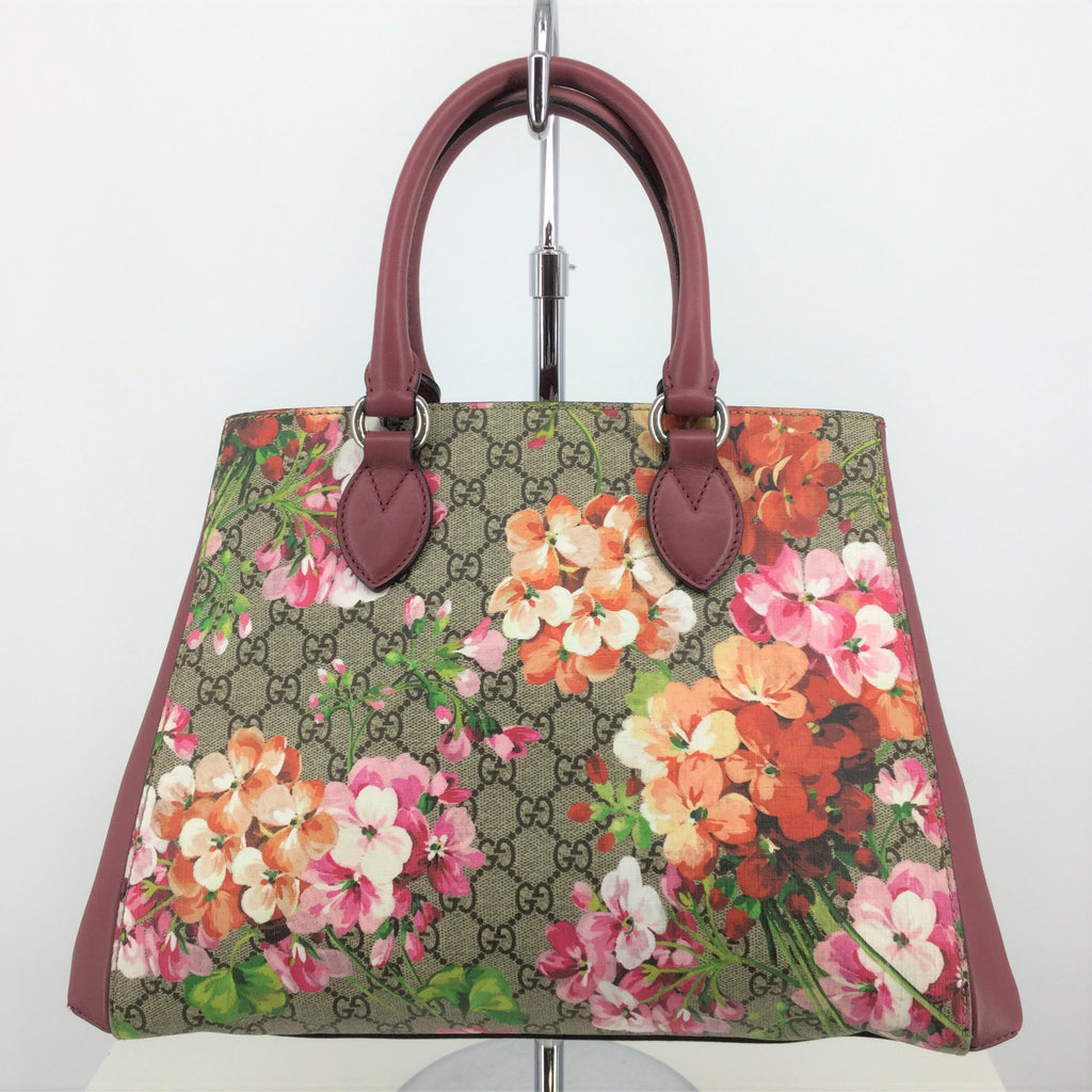 Gucci Handbag Supreme Soft Top Handle Dry Rose
