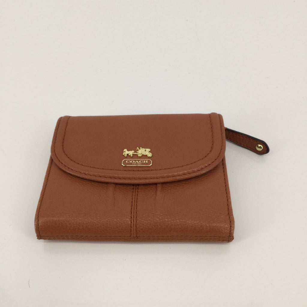 Coach Caramel Leather Wallet