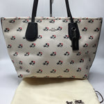 Coach Taxi Ramble Rose Floral Tote - COMES WITH DUSTBAGRETAILS FOR $295CM PRICE $120