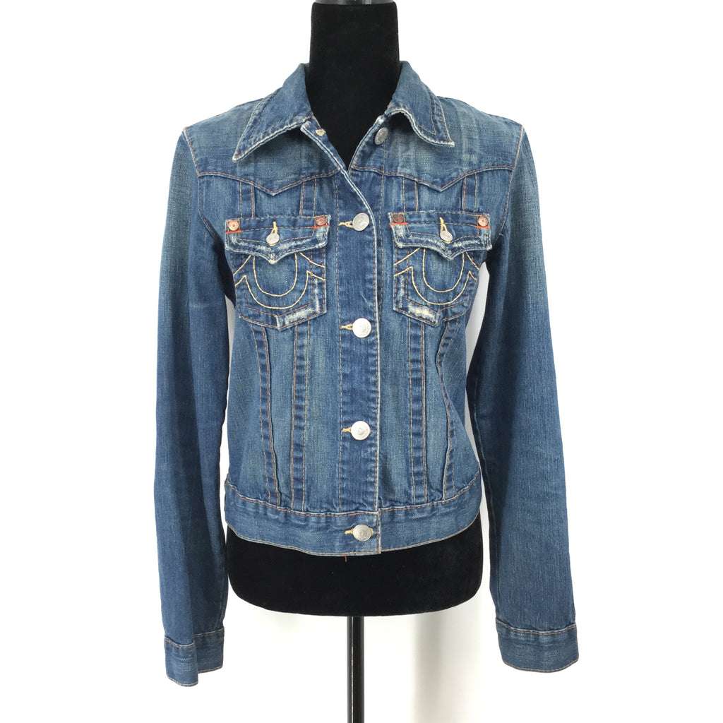 True Religion Denim Jacket Size:m