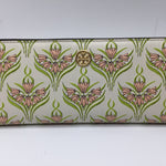 Tory Burch Wallet Size:small - ROBINSON PRINT SLIM WALLETWHITE, PINK AND GREEN FLORAL WALLET1 EXTERIOR ZIP POCKET4 BILL COMPARTMENTS'11 CARD SLOTS