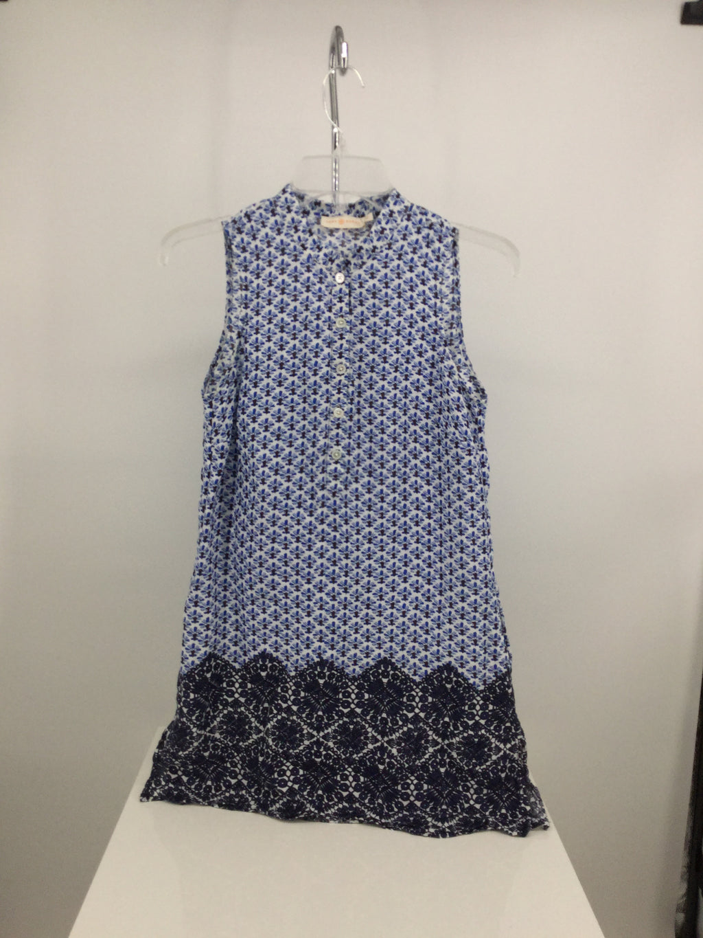 Tory Burch Dress Short Sleeveless
