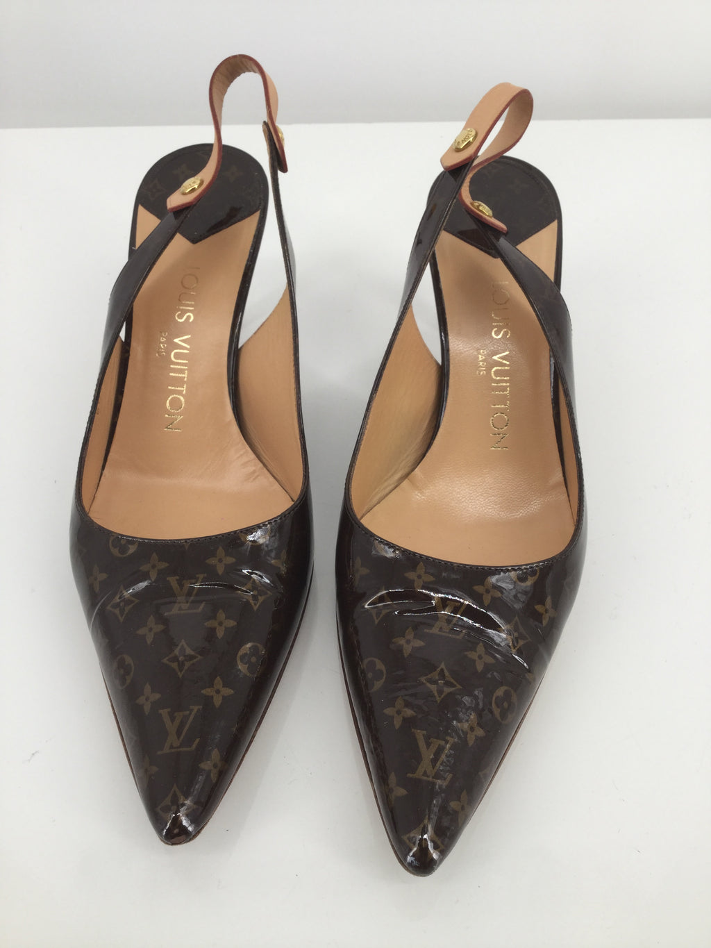 Louis Vuitton Monogram Heels