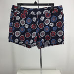 Ann Taylor Loft Shorts - NWTS.NAVY COLORED SHORTS WITH WHITE, CORAL, AND LIGHT BLUE PRINT.