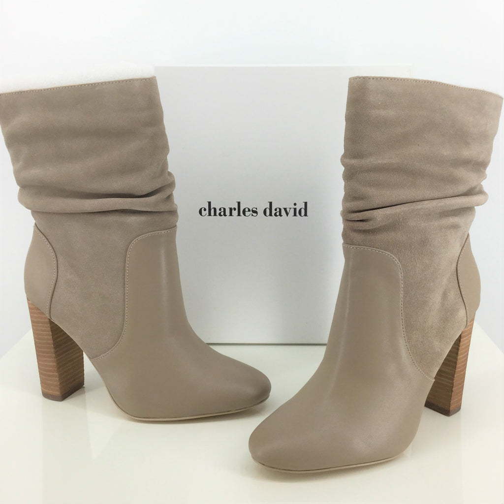 NWT CHARLES DAVID BOOTS ANKLE SIZE:8.5