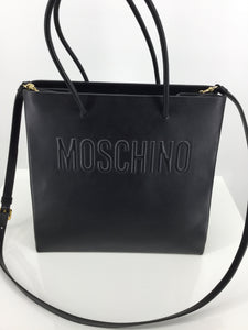 ACCESSORIES,PURSES AND HANDBAGS - SUPPLE LEATHER MOSCHINO HANDBAG - RARE AND BEAUTIFUL, WITH TAGS. ORIGINAL RETAIL WAS 1350, SALE PRICE 745 - CM IS OFFERING THIS GEM FOR ONLY 450!! THAT'S ONE THIRD OF RETAIL! DESIGNER STYLE FOR AWESOME DEALS!