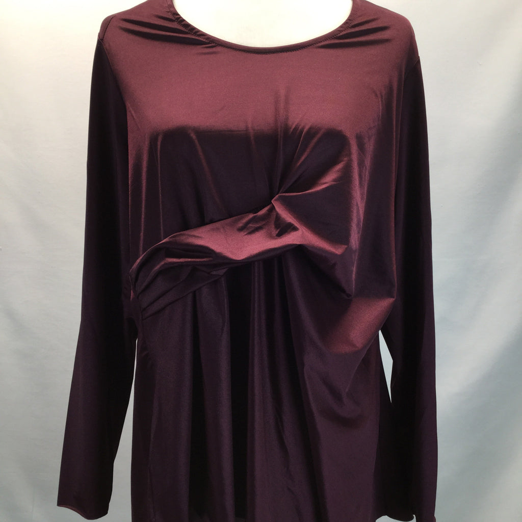 SEVEN 7 Long Sleeve Top Size 1 X NWT Melissa Mccarthy
