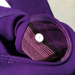 Lulu Lemon Purple Reversible Jacket Size Small  - Reduced Price! - LULU LEMON REVERSIBLE JACKET SOLID PURPLE ON ONE SIDE AND PRINTED PATTERN IN PURPLE ON THE OTHER. PURPLE SIDE HAS POCKETS JACKET HAS THUMB HOLES. EXCELLENT CONDITION. PRICE REDUCED FROM $52.