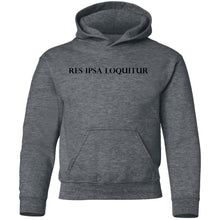 Load image into Gallery viewer, Res Ipsa Loquitur Youth Pullover Hoodie