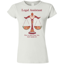 Load image into Gallery viewer, Assistant Kiss! Ladies' T-Shirt