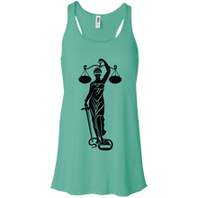 Load image into Gallery viewer, Justice Flowy Racerback Tank