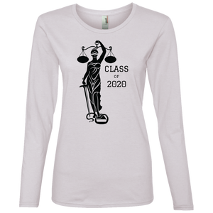 Justice Class of 2020 Ladies' Lightweight LS T-Shirt