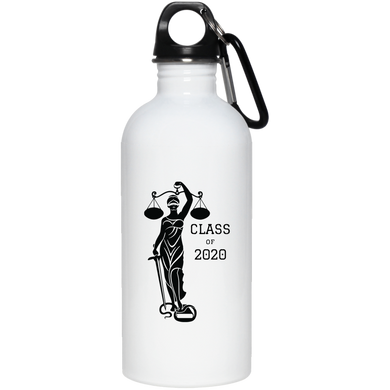Justice Class of 2020 20 oz. Stainless Steel Water Bottle