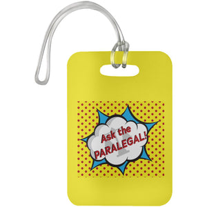 Ask the Paralegal! Luggage Tag
