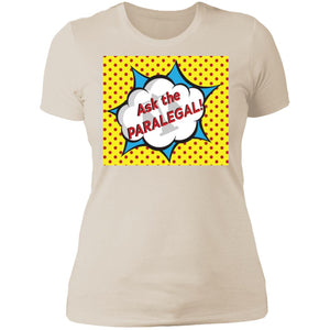 Ask the Paralegal! Boyfriend Tee
