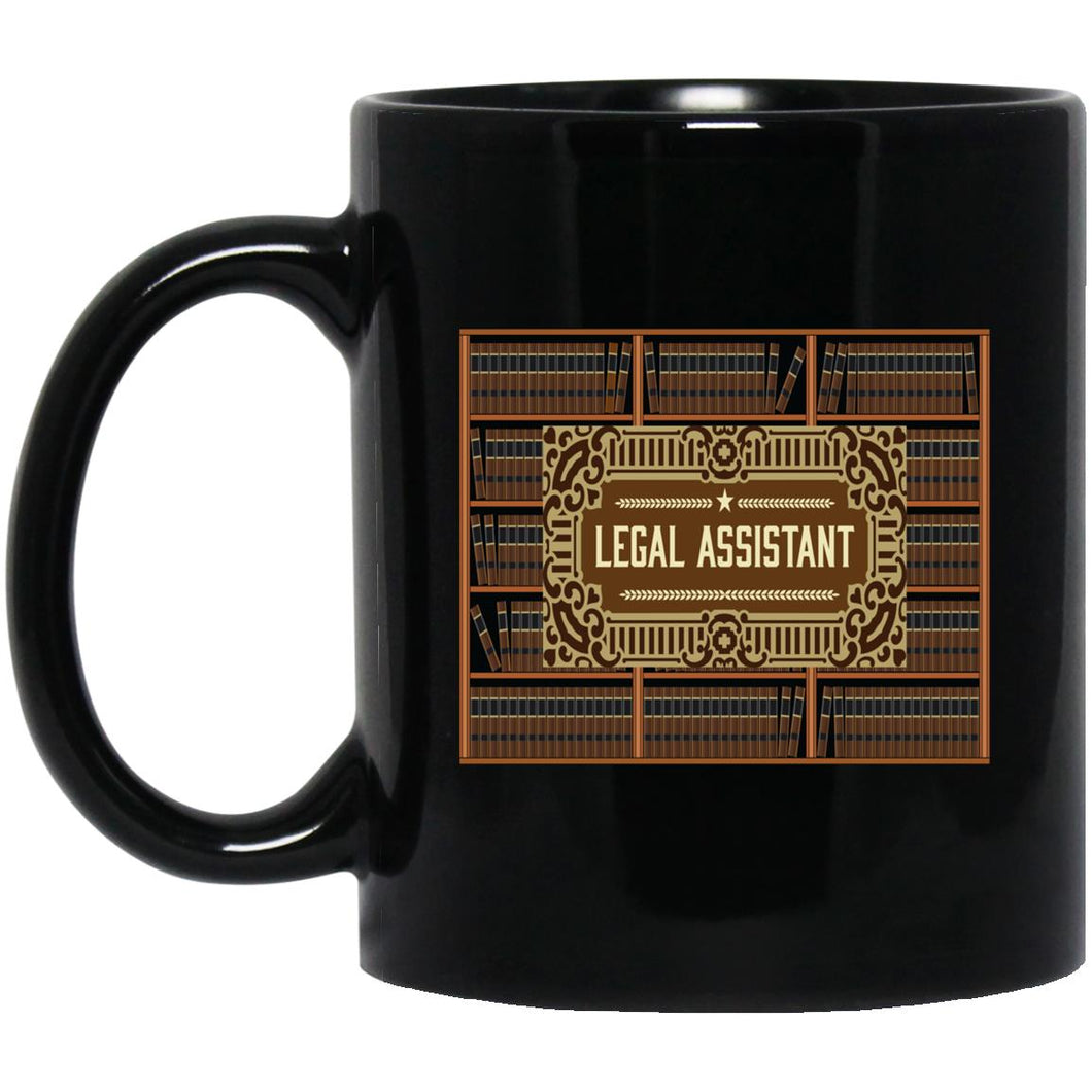 Legal Assistant Books, Mug 11 oz.
