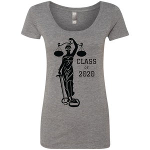 Justice Class of 2020 Ladies' Triblend Scoop