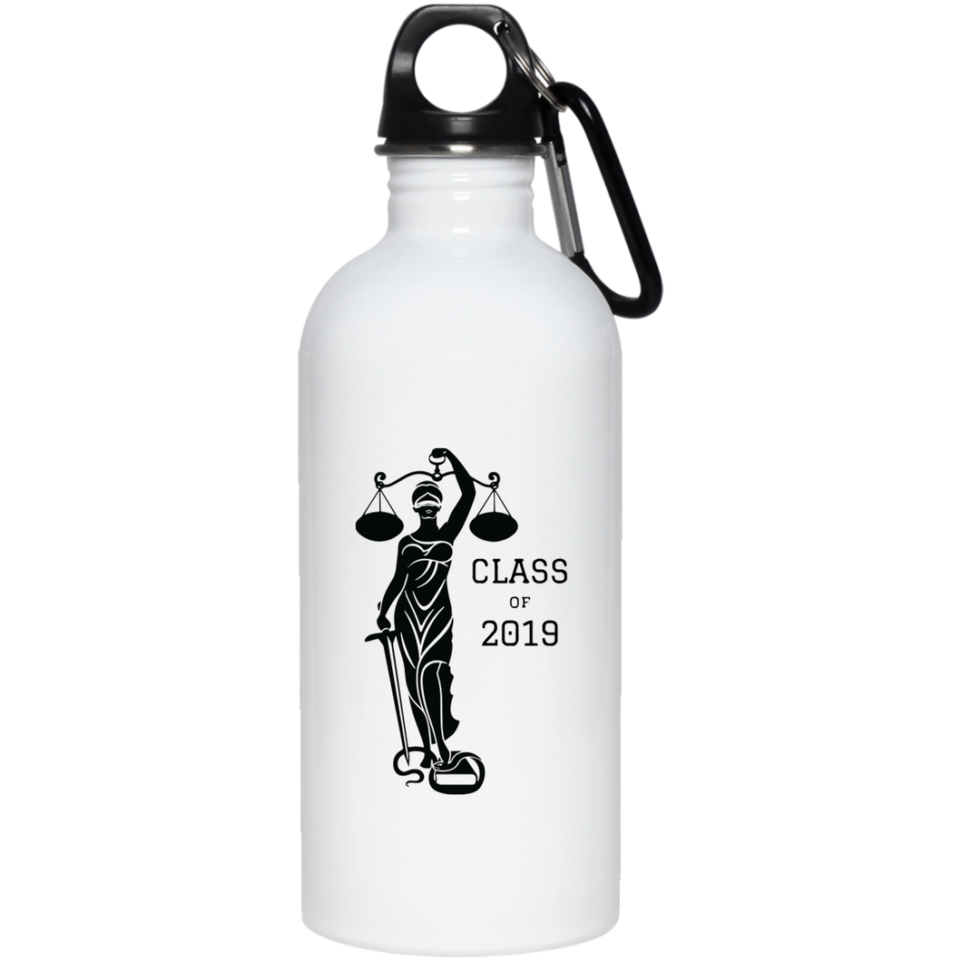 Justice Class of 2019 Stainless Steel Water Bottle