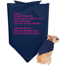 Load image into Gallery viewer, Fuck Off Doggie Bandana