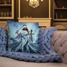 Load image into Gallery viewer, Walking Lady Justice Premium Pillow