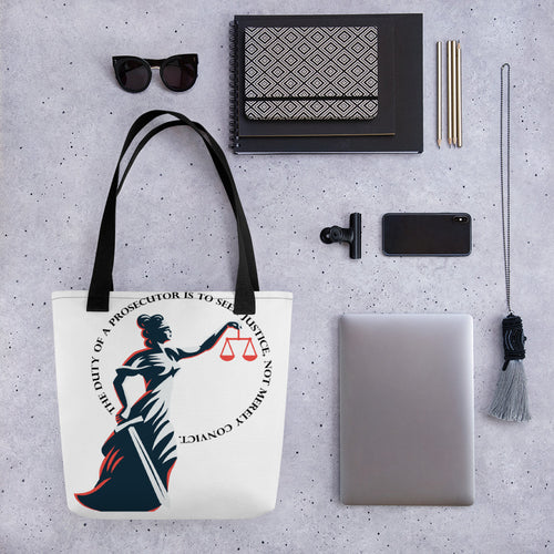 Prosecutor's Duty All-Over Print Tote