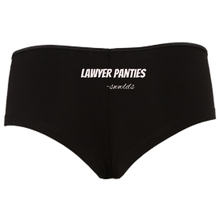 Load image into Gallery viewer, Lawyer Panties Boyshorts