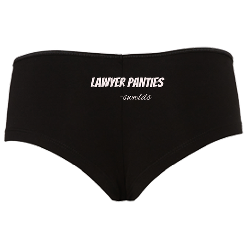Lawyer Panties Boyshorts
