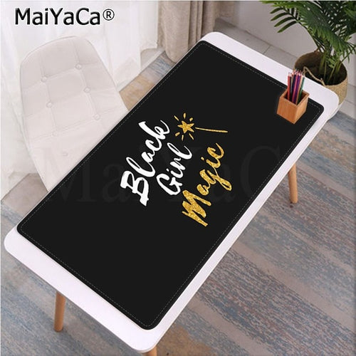 Black Girl Magic Large Mousepad/Keyboard Mat