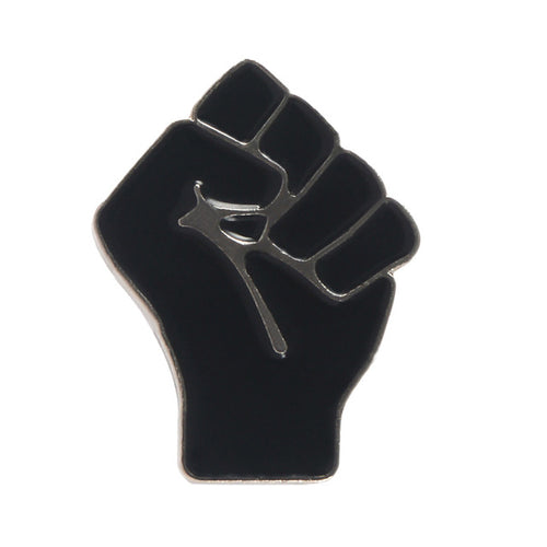 Black Power Raised Fists