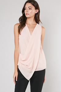 Draped Starlit Blouse