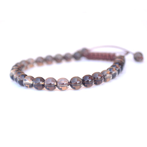 brown quartz malas
