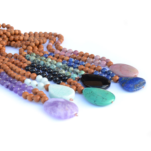 Energy Gem Stone Yoga Beads