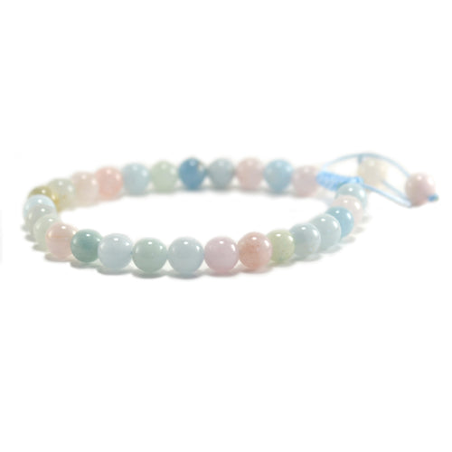 Morganite Yoga Bracelet