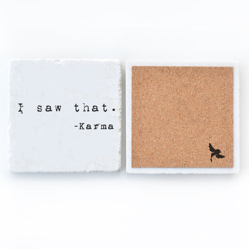 Karma Bar Coaster
