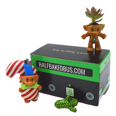 weed bus pot head box cbd subscription box troll lighter troll succulent
