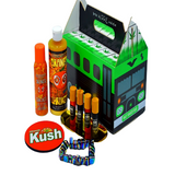 weed bus box cbd subscription box stoner box smokers choice subscription