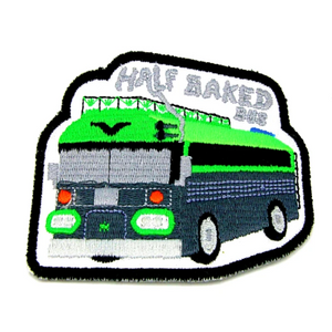 skoolie weed bus cannabis bus patch hippie box