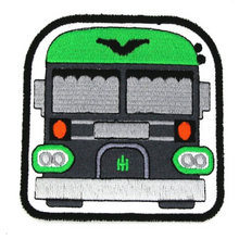 skoolie weed bus cannabis bus hippie gift hippie patch