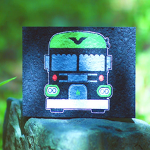 skoolie weed bus rubber dab mat tiny home gift