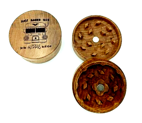 Weed Bus Magnetic Wood Grinder