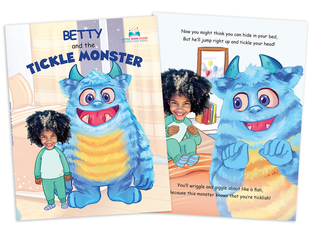 Tickle Monster Personalised childrens books