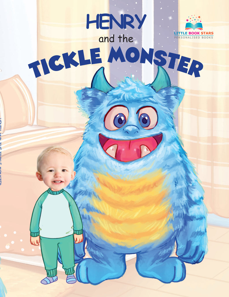 Tickle Monster Personalised kids books