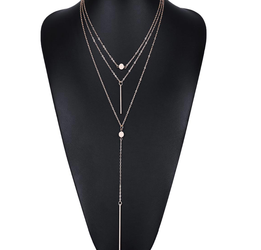 Exquisite Europe & American  dot hanging necklace