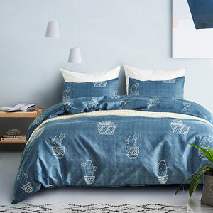 Cactus Duvet Cover Set