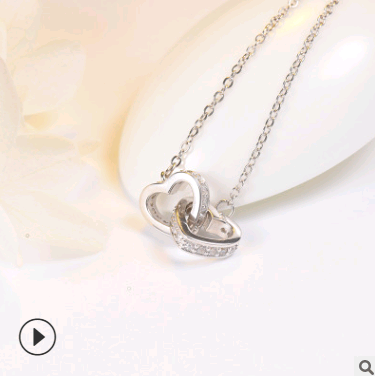 Lovers' 925 sterling silver