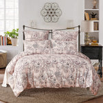 Flower Printed Duvet Cover Set Including Pillow Case